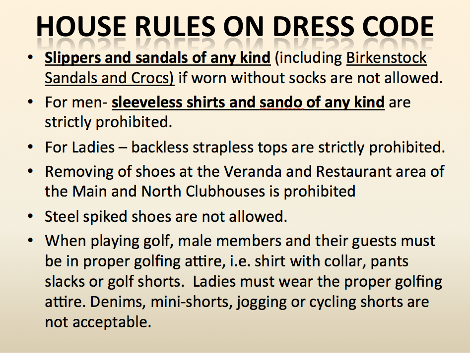 dress-code-house-rules